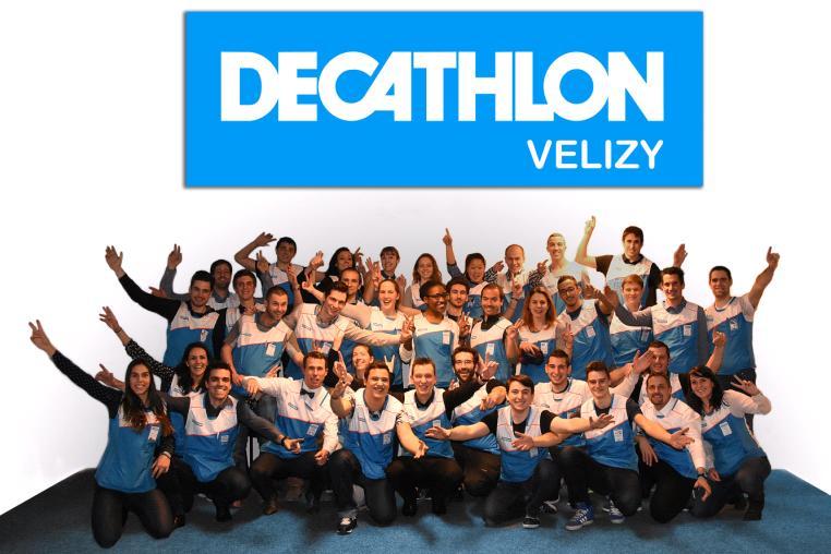décathlon vélizy