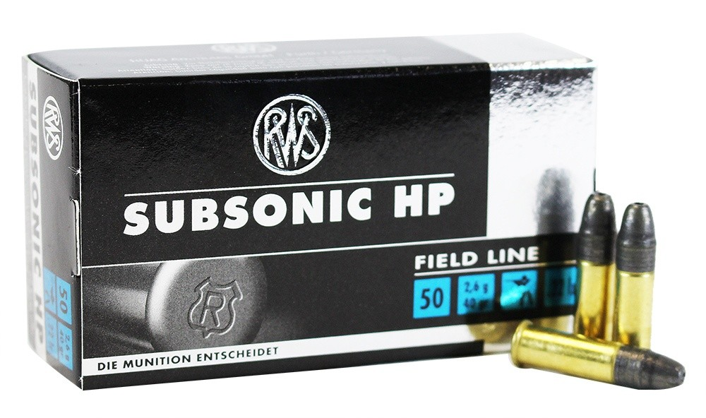 munition 22lr subsonic