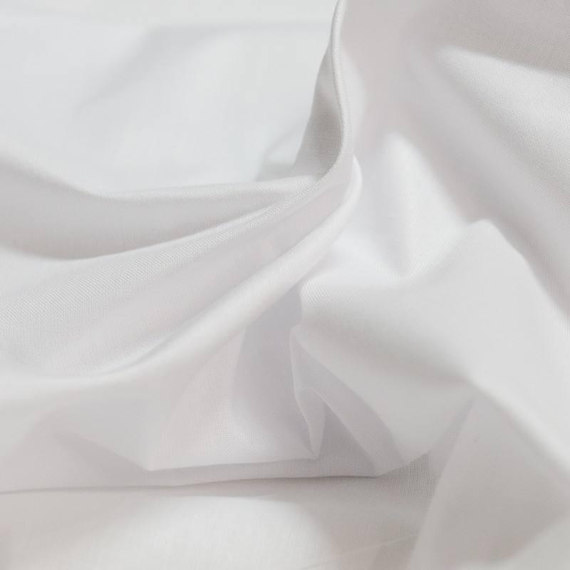 drap blanc
