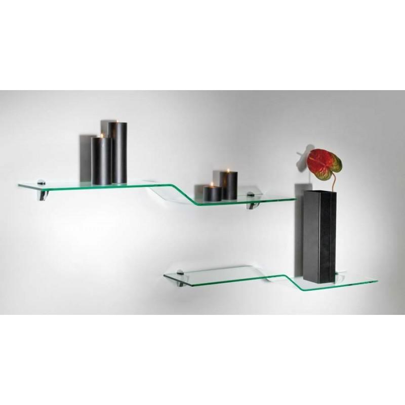 etagere en verre