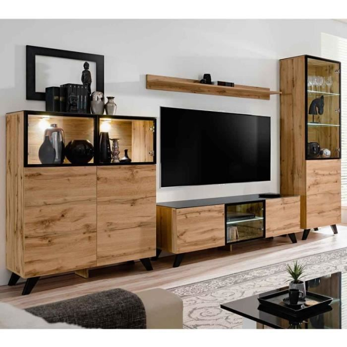 meuble tv bibliothèque