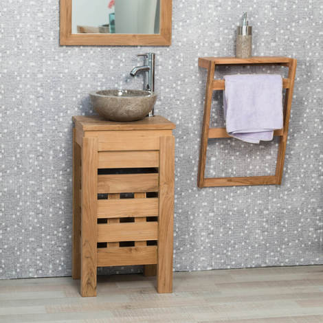 petit meuble de salle de bain
