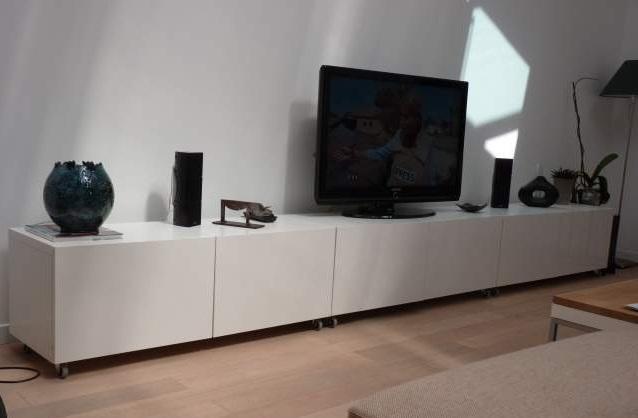 besta banc tv blanc