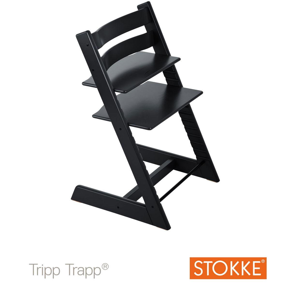 chaise tripp trapp noire