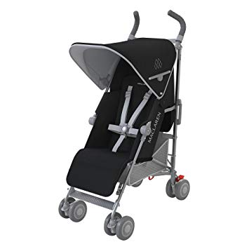 maclaren quest black and silver