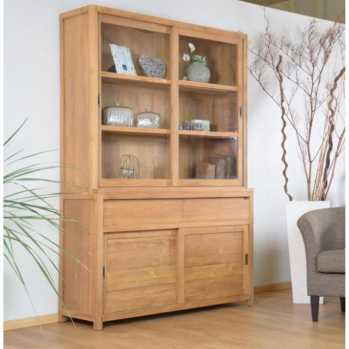 meuble avec vitrine