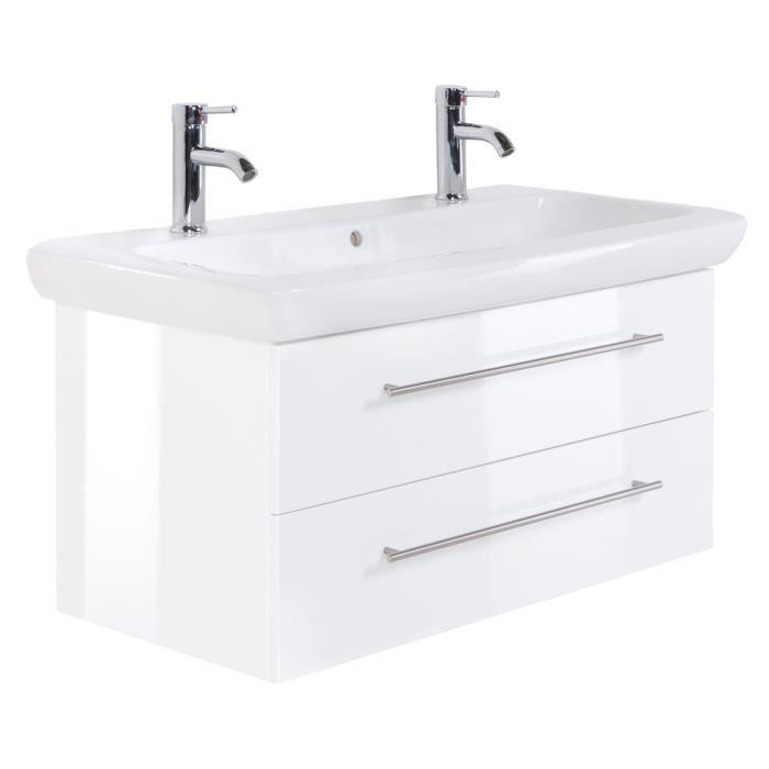 meuble double vasque 100 cm